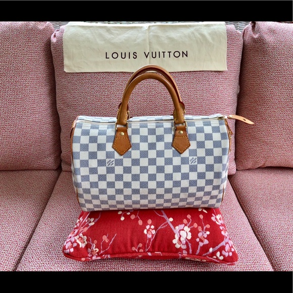 1fae6598ec11 LOUIS VUITTON DARMIER AZUR SPEEDY 25 GIFTABLE🎉